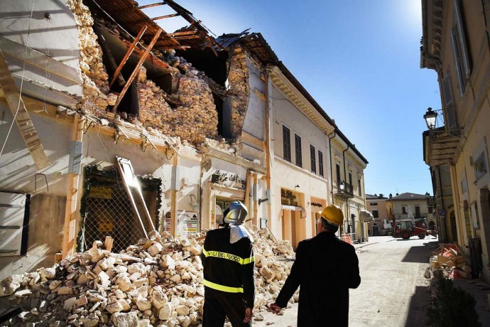 이탈리아 지진 - Pixabay 제공